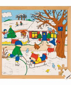 Seasons puzzle 2 - winter - Educo