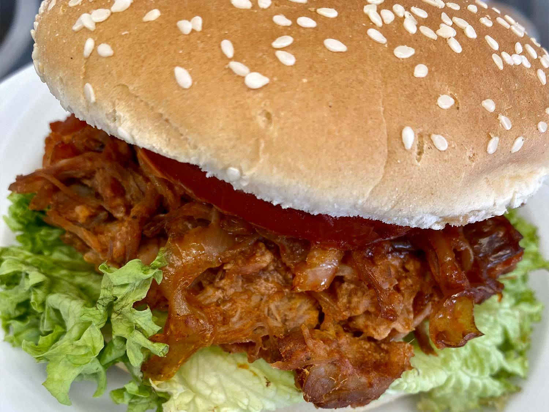 Pulled Pork im Teichhaus restaurant Bad Nauheim