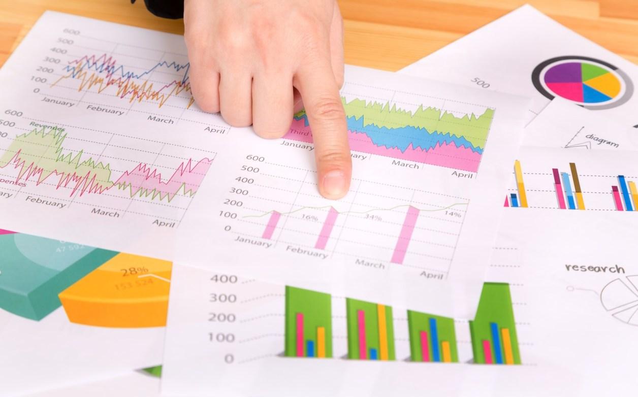 ブログの統計情報を確認。