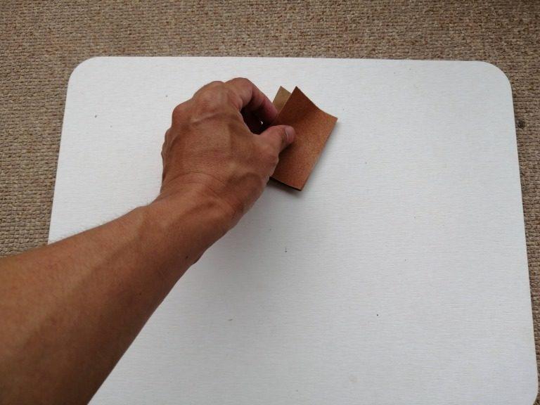 ニトリの珪藻土バスマット③