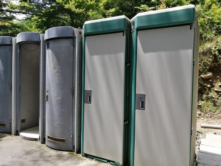 唐沢キャンプ場 トイレ