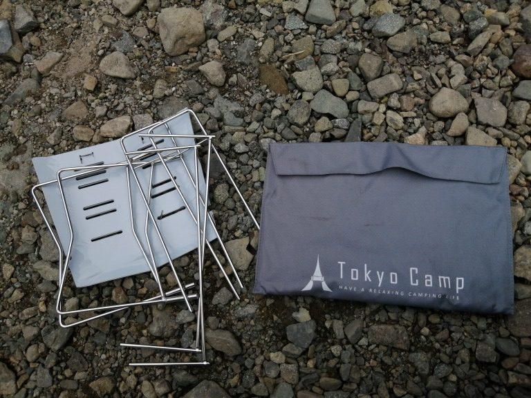 TOKYO CAMP焚火台2