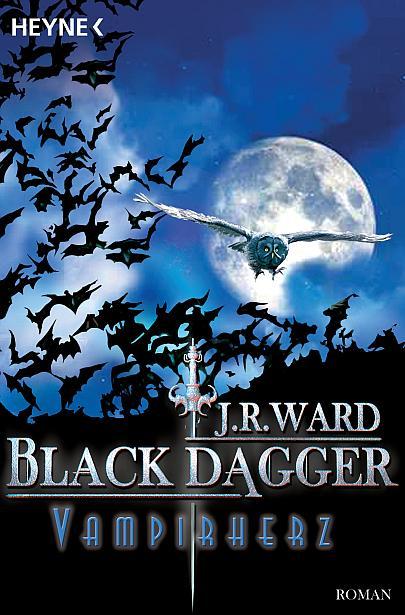 """Cover """"Black Dagger 8 - Vampirherz"""""""
