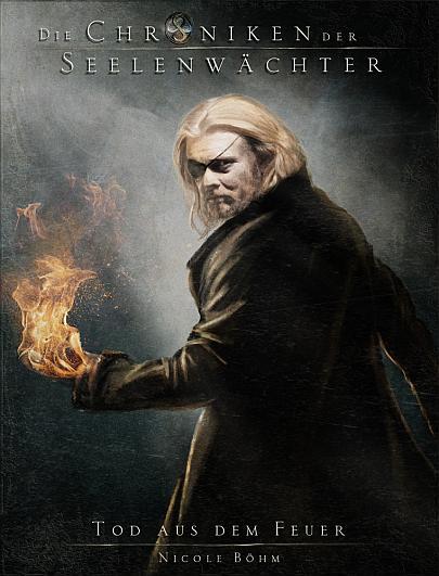 """Cover """"Die Chroniken der Seelenwächter 7 - Tod aus dem Feuer"""""""