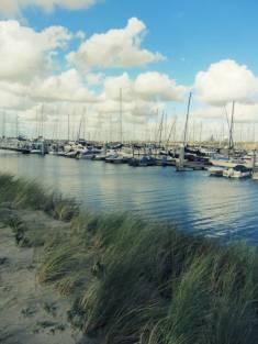 Der Segelhafen von Ijmuiden