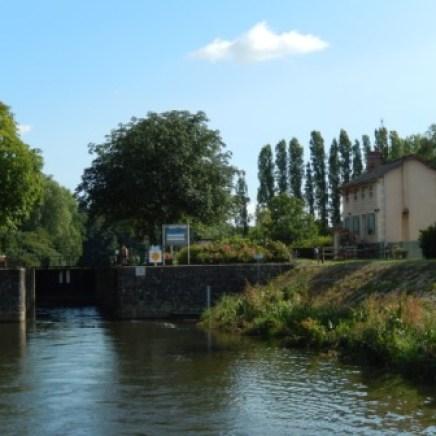 Hausbootferien auf der Mayenne