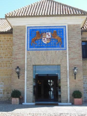 Parador Carmona - Eingangsbereich
