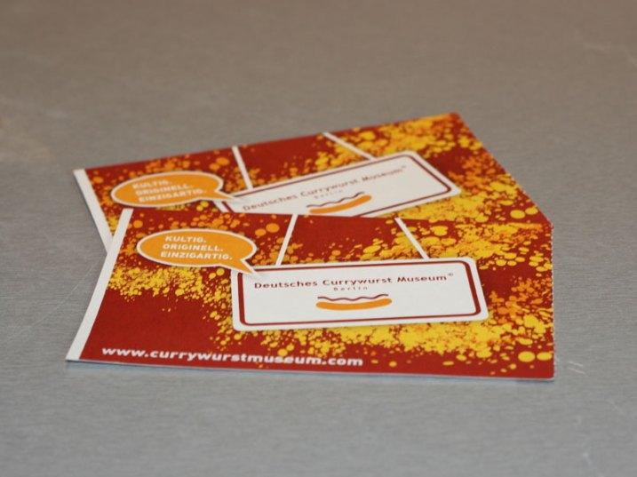 Currywurstmuseum-Eintrittskarte