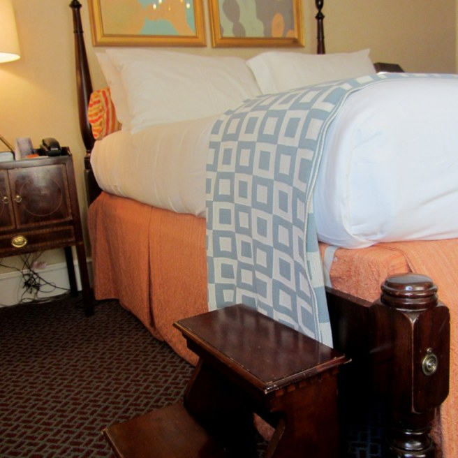 Ein Bänkchen fürs Springbett