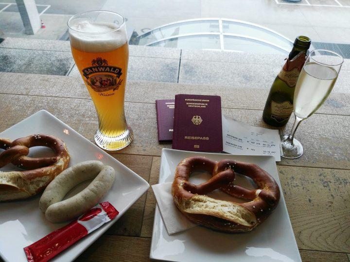 Bier und Prosecco