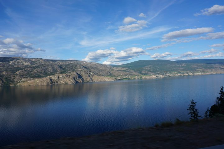 Campsite am Okanagan Lake