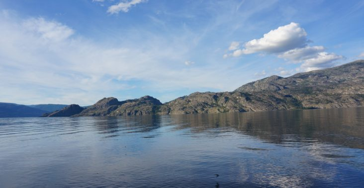 Camping am Okanagan Lake