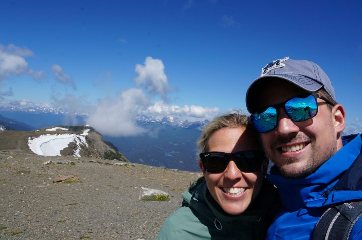 top of Whistler mountain Jasper NP