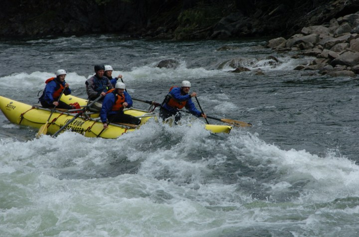 Rafting Clearwater River