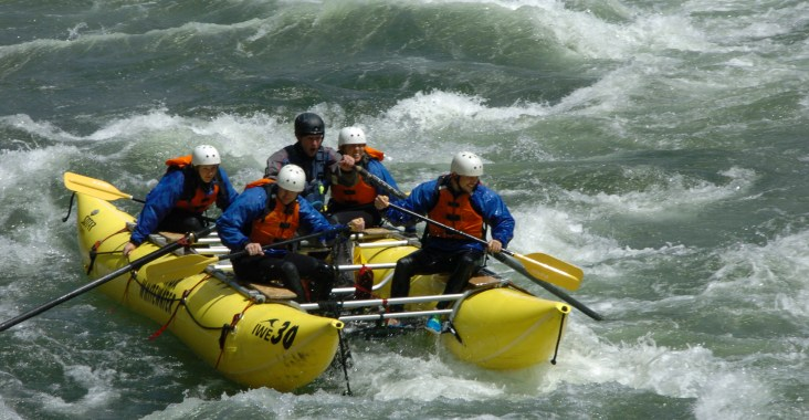 Rafting in Kanada