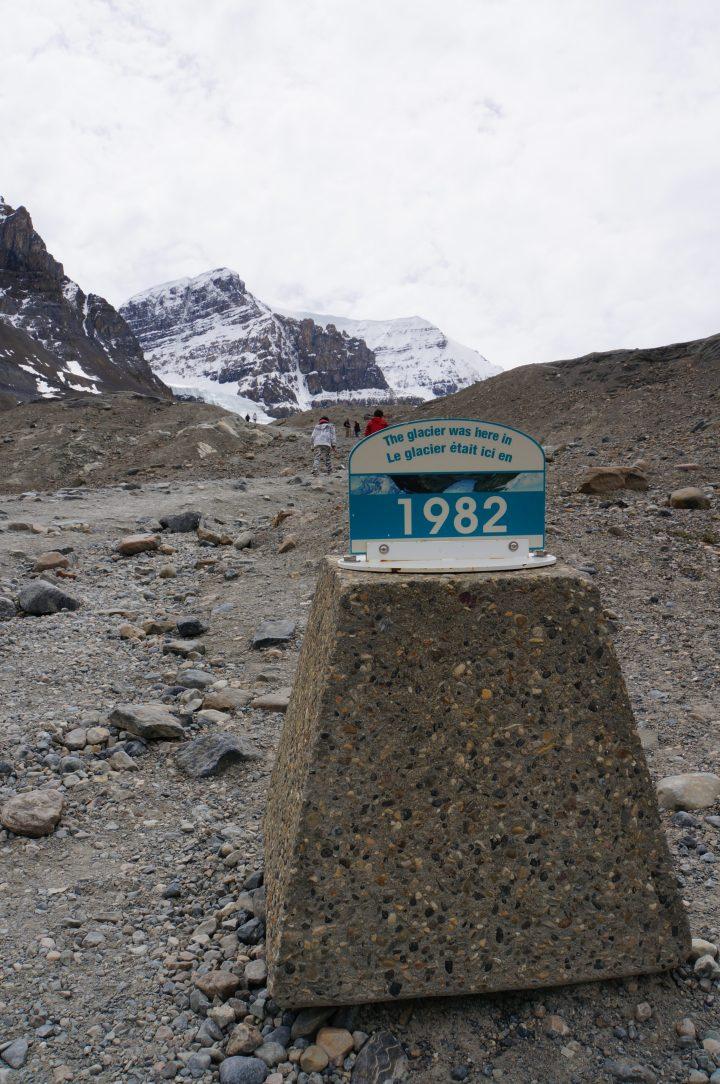 Athabasca Glacier Disappearing