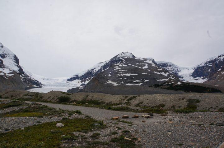 Die Gletscher am Icefield Parkway
