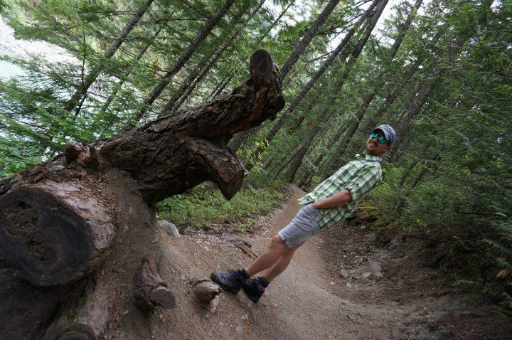 Wandern im Nairns Provincial Park