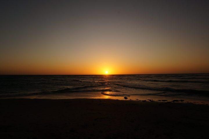 Sonnenuntergang Tiger Reef Swakopmund