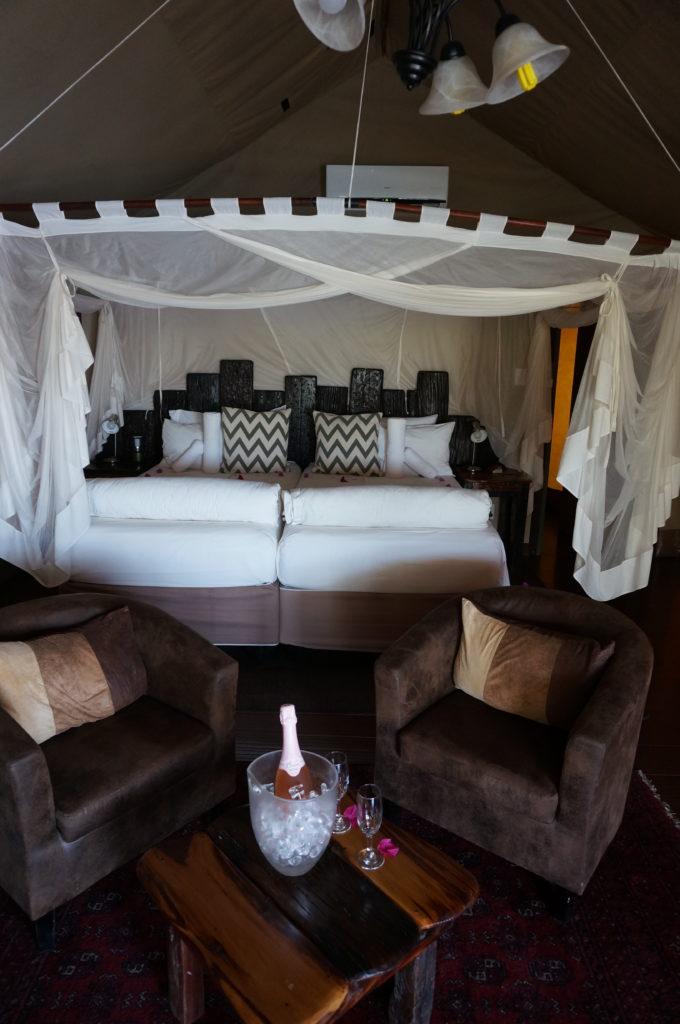 Shametu River Lodge Luxury Tent