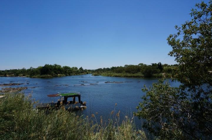 Okavango Fluss bei Divundu