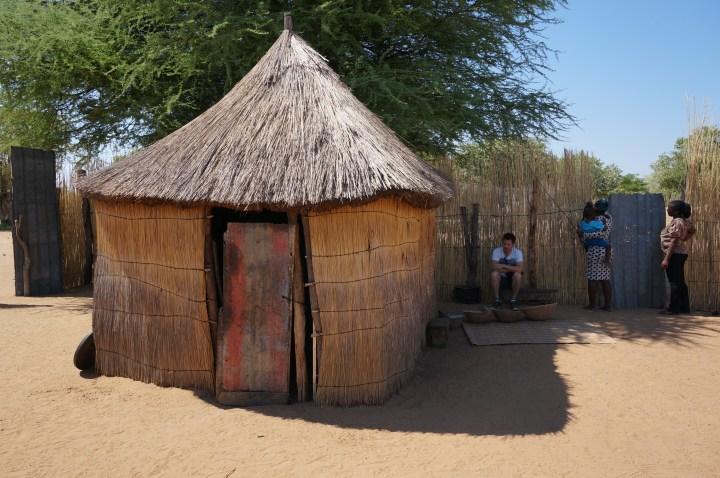 Daviva - namibisches Dorf