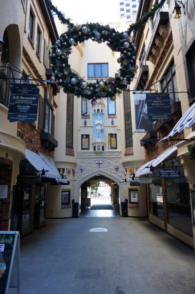 London Court - das Tor zum Shopping-Paradies Perth