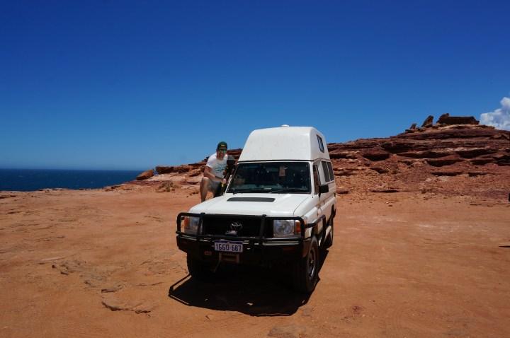 Allrad Camper Westküste Australien