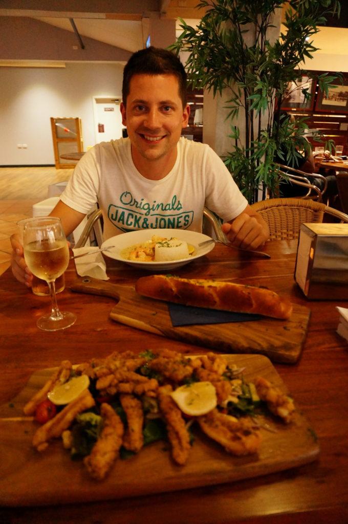 Essen in Carnarvon
