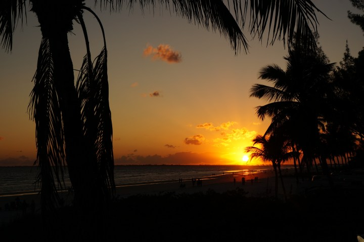Sonnenuntergang Fort Myers Beach