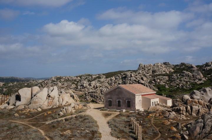 verlassenes Haus Capo Testa