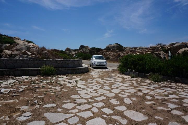 Mit dem Auto nach La Maddalena