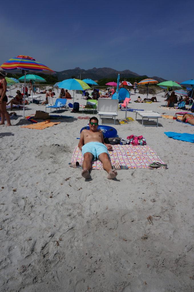 einsame Strände Sardinien