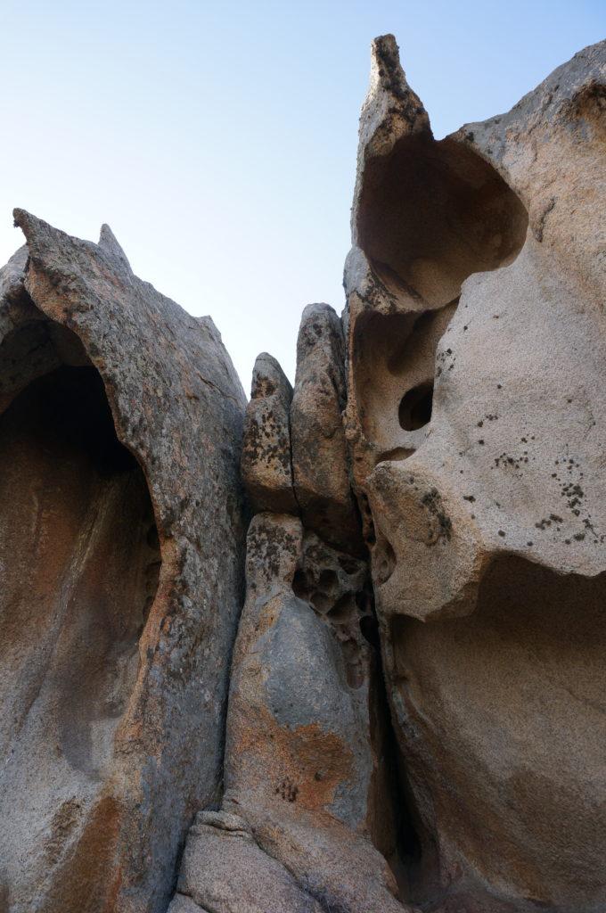 Granitgestein Sardinien