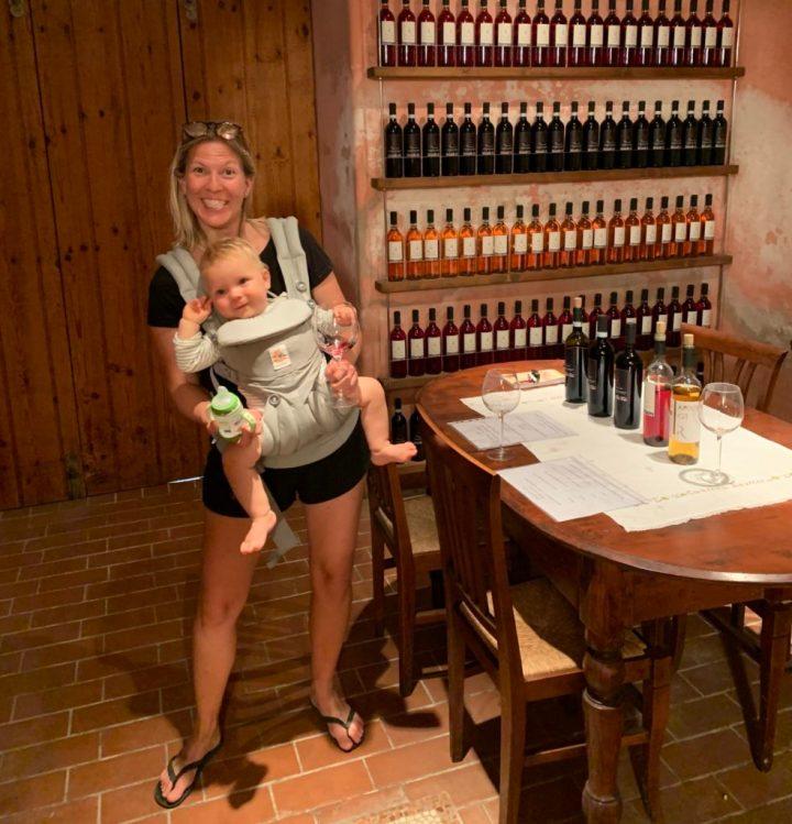 Babytrage für Reisen
