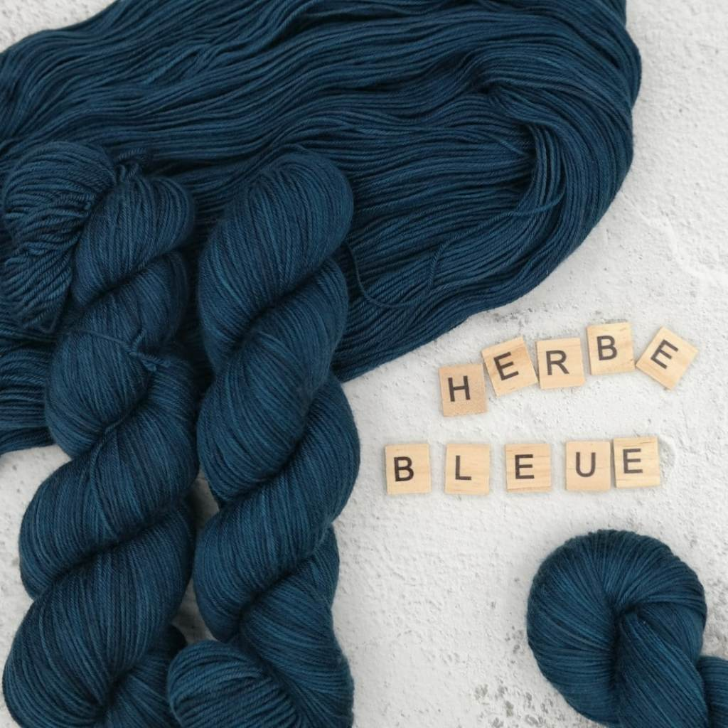 Herbe Bleue - MÉRINOS SUPERWASH - Fingering