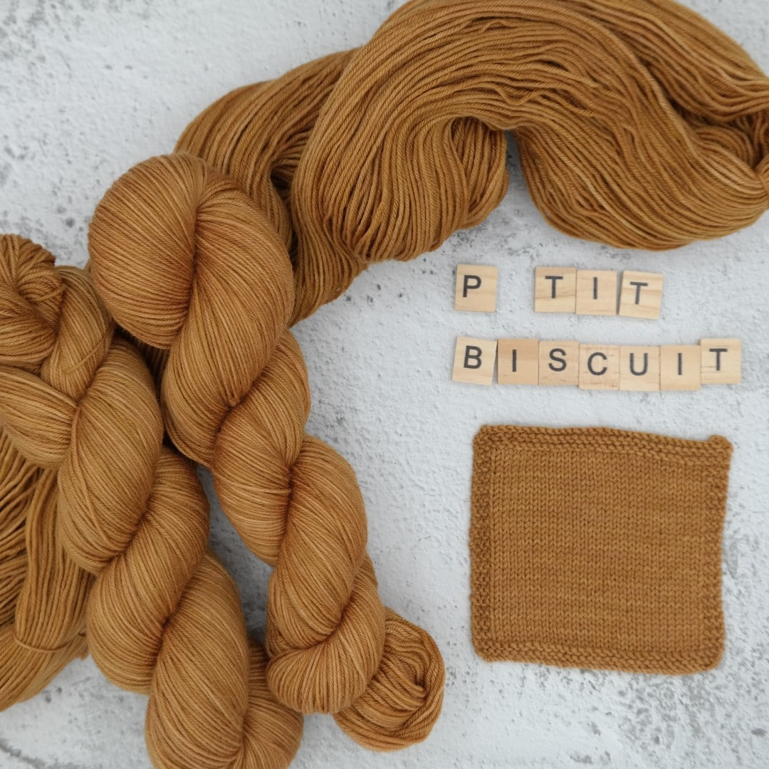 P'tit Biscuit - MÉRINOS SUPERWASH - Fingering
