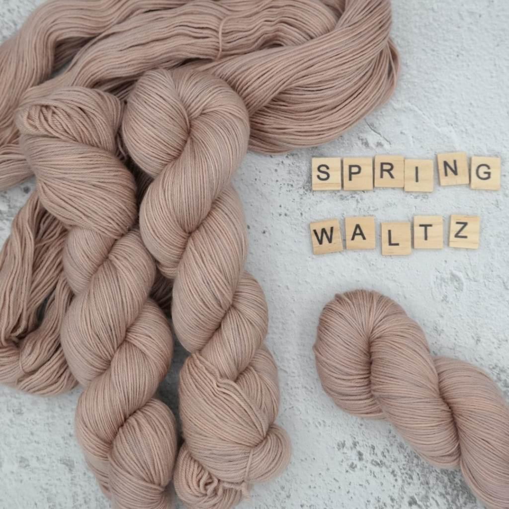 Spring Waltz - MÉRINOS SUPERWASH - Fingering