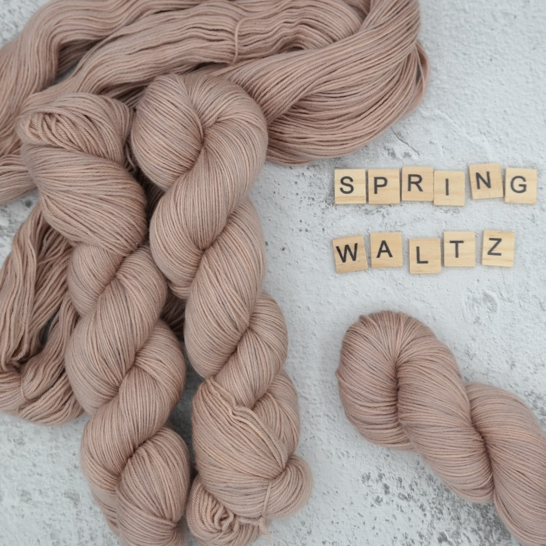 Spring Waltz - MÉRINOS SUPERWASH - Fingering