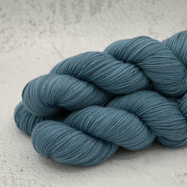 Post Blue - Chaussette Tordue - Fingering