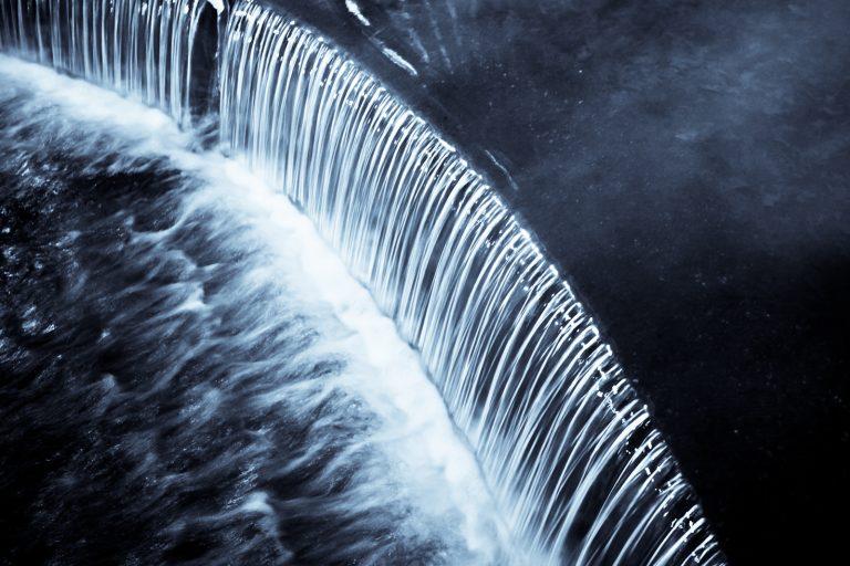 Manmade Falls