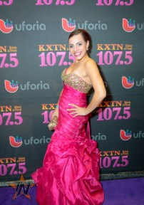 Savannah Votion at 2015 Tejano Music Awards Purple Carpet (Photo by Ryan Bazan / Tejano Nation)
