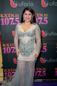 Sarah at 2015 Tejano Music Awards Purple Carpet (Photo by Ryan Bazan / Tejano Nation)
