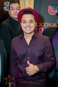 Juaquin Cura at 2015 Tejano Music Awards Purple Carpet (Photo by Ryan Bazan / Tejano Nation)