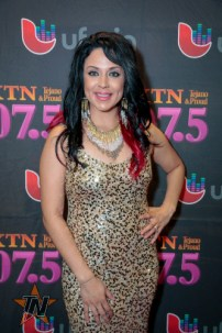 Natajja Gomez at 2015 Tejano Music Awards Purple Carpet (Photo by Ryan Bazan / Tejano Nation)