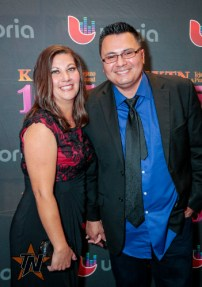 Rick Fuentes at 2015 Tejano Music Awards Purple Carpet (Photo by Ryan Bazan / Tejano Nation)