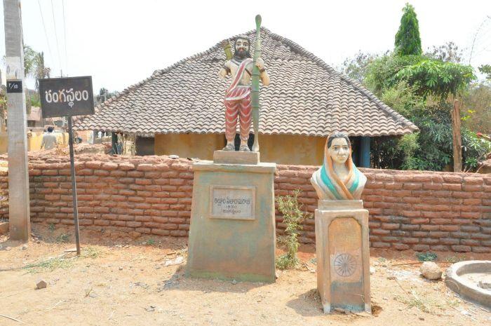 Rangasthalam Movie Sets Photos_18