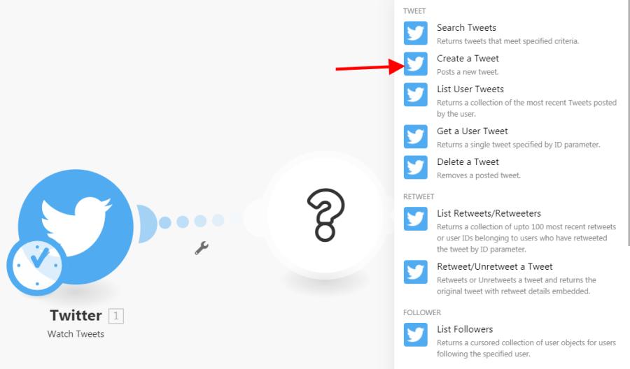 creating tweet module