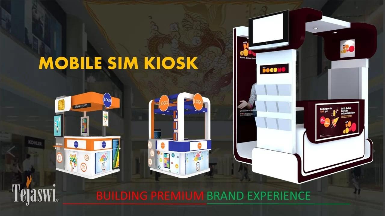 Retail Kiosk Solution - Mall Kiosk Design Solution Mumbai