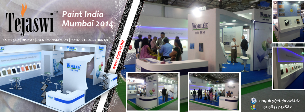 Paint India Exhibition Stall Design Construction